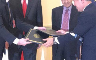 Memorandum of Collaboration (MoC) between Universiti Kuala Lumpur, TDA, Istanbul Shipyard and SEFT, Turkey
