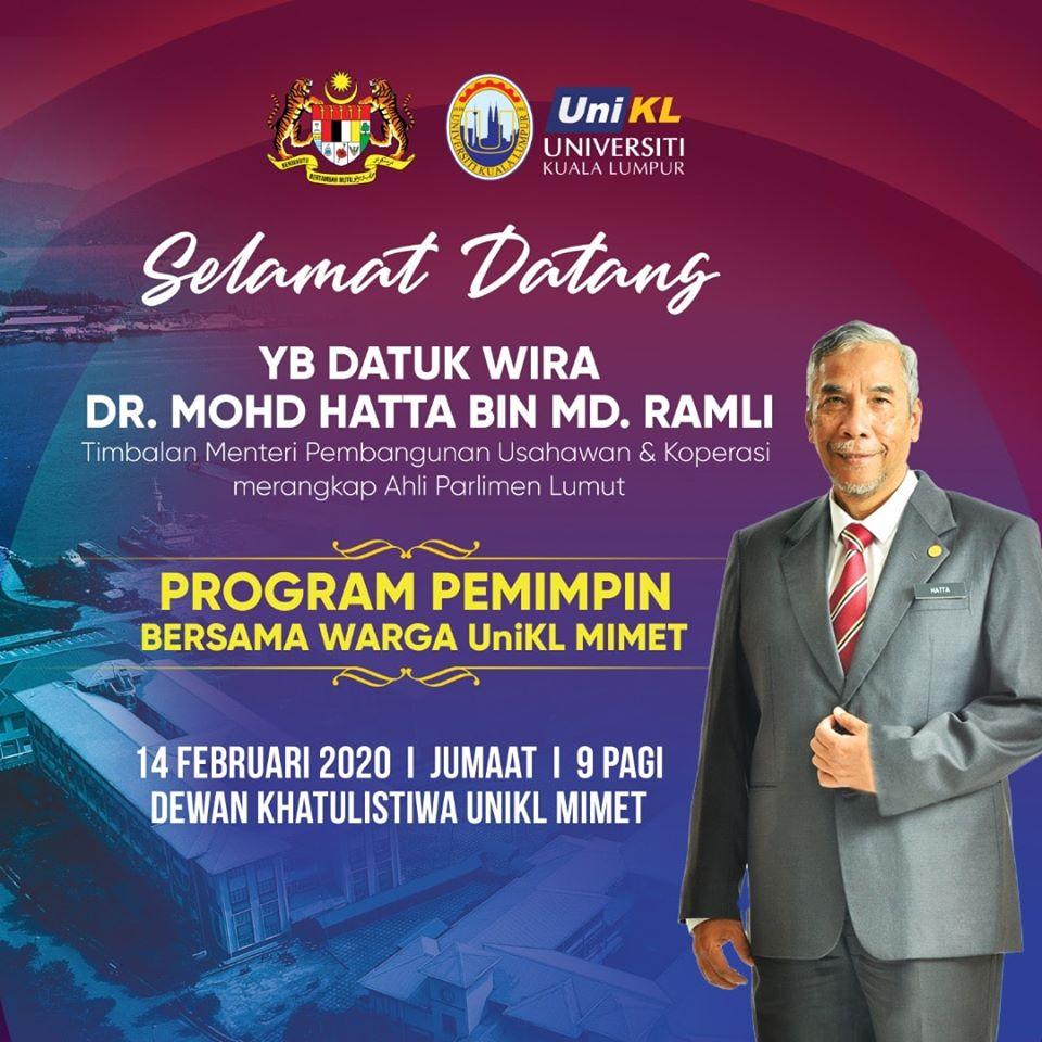 Program Pemimpin Bersama Warga Kerja UniKL MIMET
