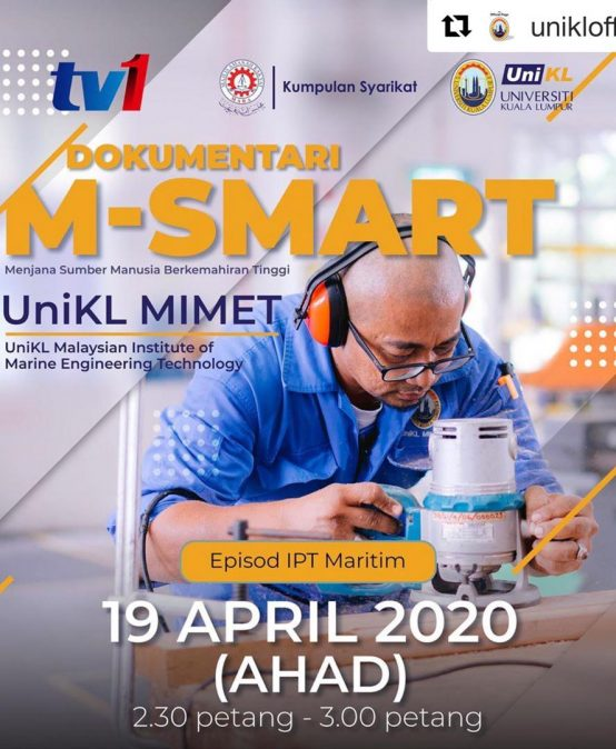 M-SMART Documentary on UniKL MIMET at RTM1