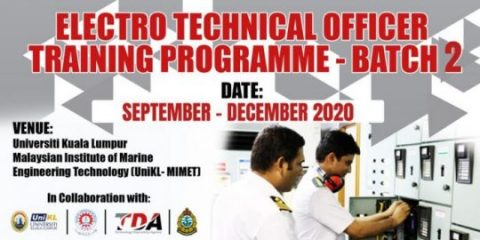 Technical Course, Training Programme: Bridging Electro-Technical Officer (BETO) Closing Ceremony