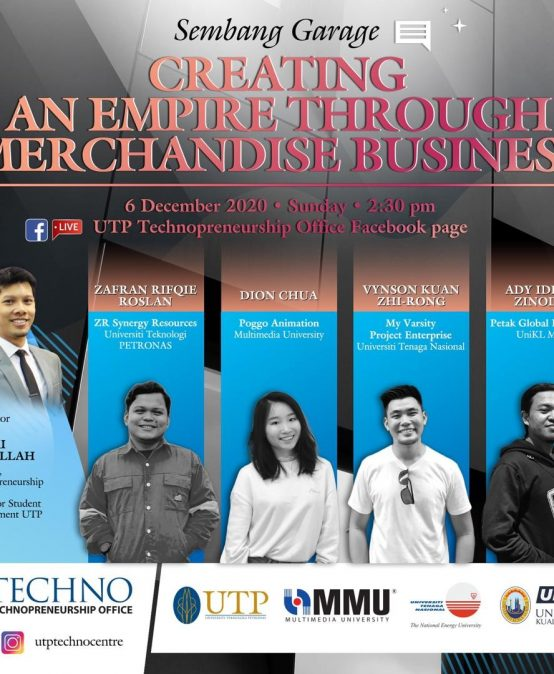 Special Panel on Sembang Garage: Creating An Empire through Merchandise Business